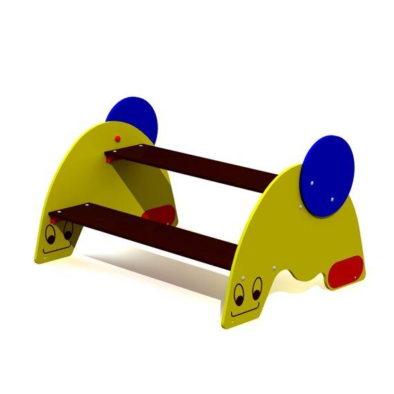 Snegl Bord og benk for barn