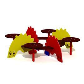 Krokodille sittegruppe