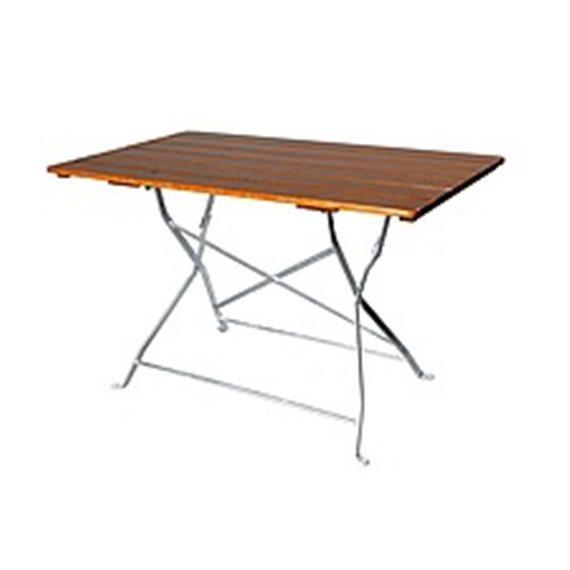 Sammenleggbart bord rektangulært