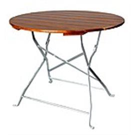 Sammenleggbart bord rundt, flere størrelser