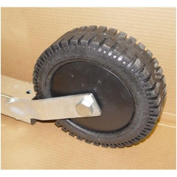 Hjul for fotballmål, bakre hjul