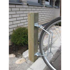 Sykkelstativ enkelt veggmontert 1PL