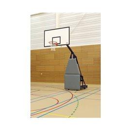 Frittstående nedfellbart basketballstativ