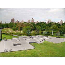 Skateparker i betong