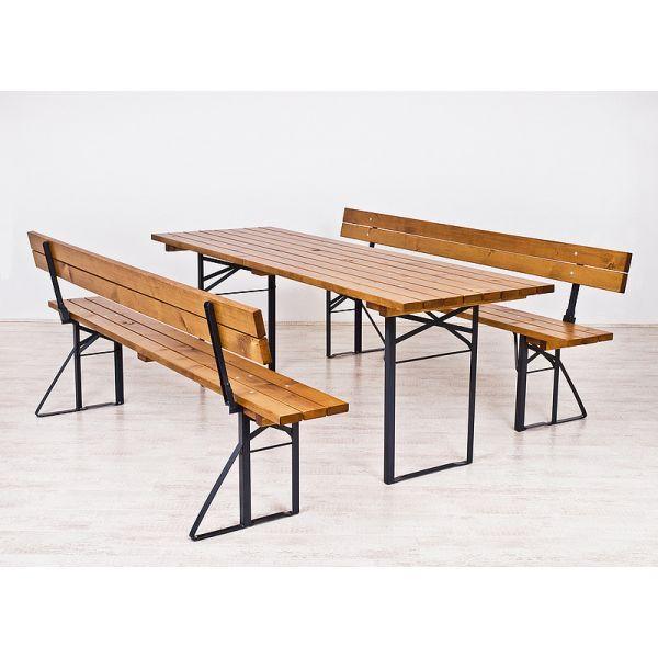 Sammenleggbare bord og stoler Sett