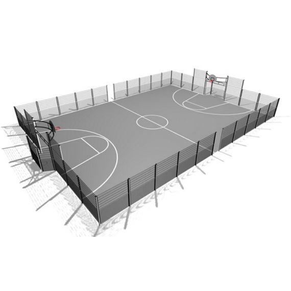 Ballbinge med Multivegg