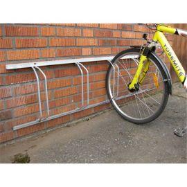 Sykkelstativ - veggfestet, skrå