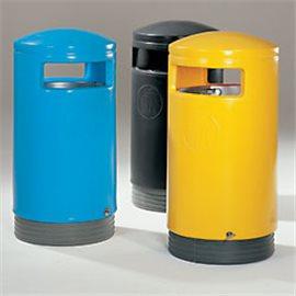 Avfallsbeholder rund type
