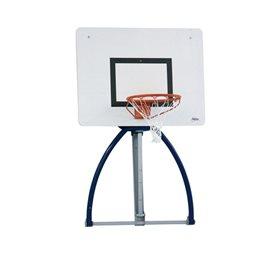 Basketballplate med gasslift system