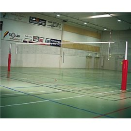 Volleyballnett med aluminiumsstolper, super match