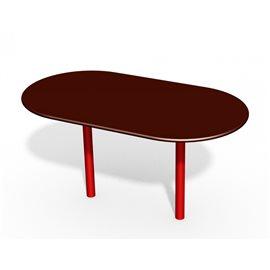 Ovalt bord