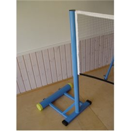 Frittstående badmintonstolper med nett