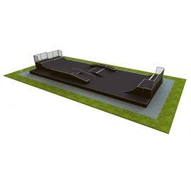 M 500 Base Monolith Skateanlegg