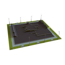 M 555 Base Monolith Skateanlegg