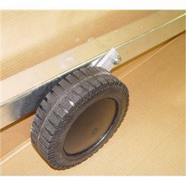 Hjul for fotballmål - Fremre hjul