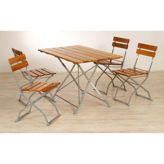 Sammenleggbare bord og stoler - Sett