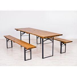 Sammenleggbare benker og bord - Sett