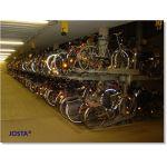 Dobbel sykkelparkering