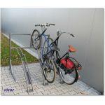 Vertikal sykkelparkering